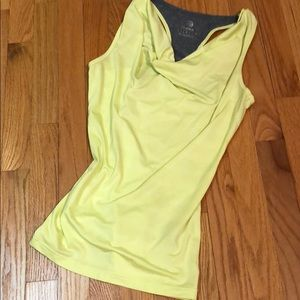 MPG Yellow Athletic Top Size Small